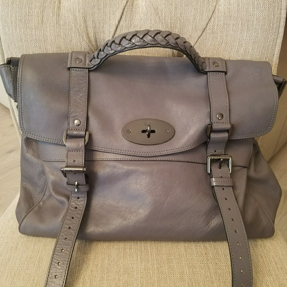 60700d7fe48 Mulberry Alexa Grey. M 5a6b7f473800c51f74bdef84. Other Bags you may like